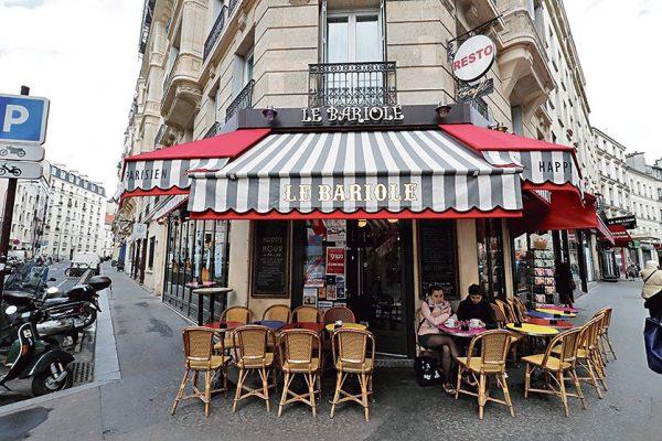 LE BARIOLE BRASSERIE 103 RUE DE BELLEVILLE   . Mon Quartier Jenifer Decker à Paris le 2/11/2018 Photo Jean-Christophe Marmara / Le Figaro
